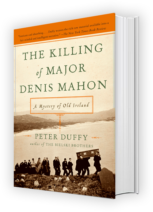 Peter Duffy Author Killing Major Denis Mahon